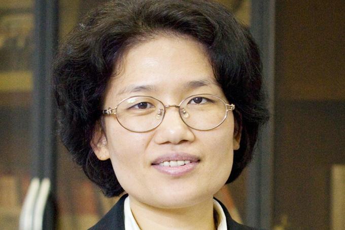 Bà Teresa He Tingbo, chủ tịch công ty HiSilicon. Ảnh: Huawei.