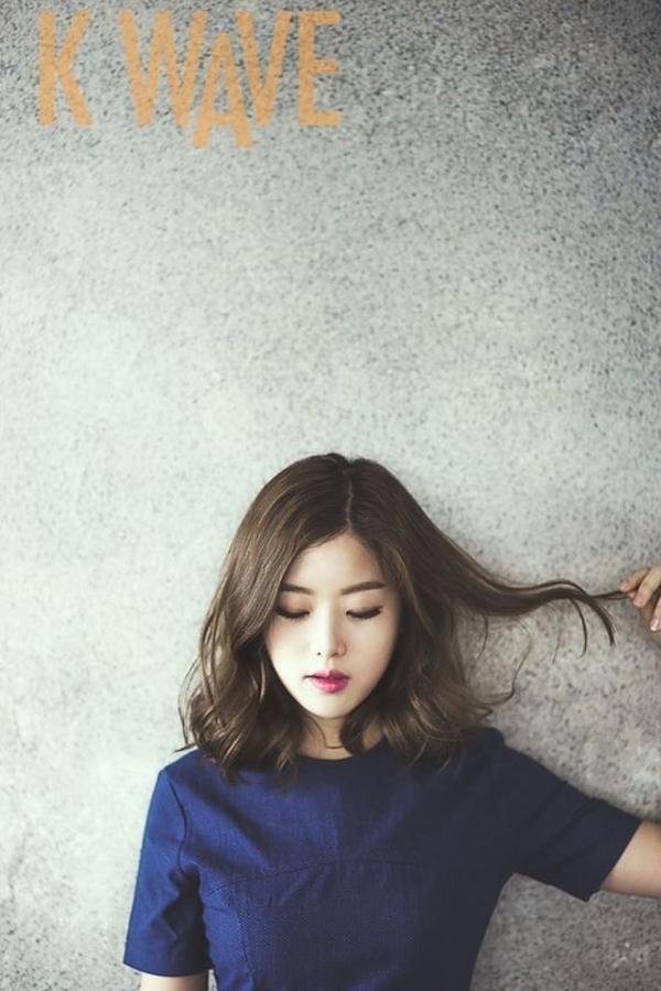 Kiểu tóc này còn hợp với nhiều dáng mặt, giúp che giấu khéo léo các khuyết điểm.