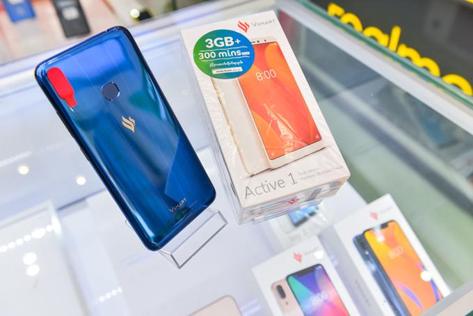 Điện thoại Vsmart bán tại Myanmar