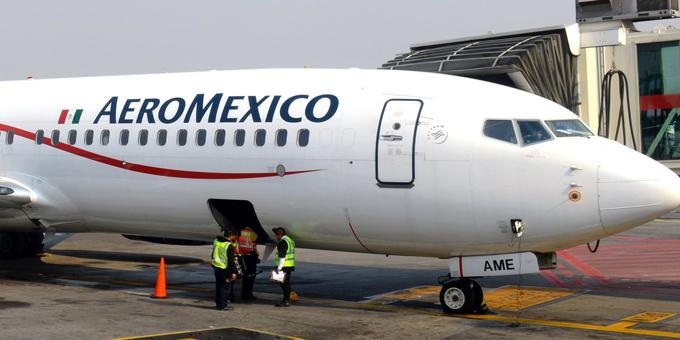 Nam hành khách tử vong trên chuyến bay của AeroMexico hôm 24/5. Ảnh: Shuttershock.