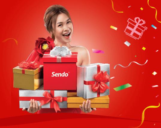 Bên cạnh sự kiện livestream, Sendo còn tổ chức khuyến mãi lên đến 90% cho các sản phẩm có thương hiệu mỗi ngày.