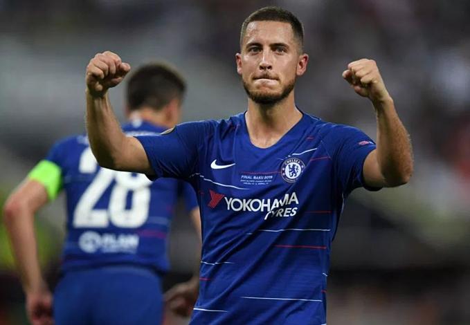 Hazard giành hầu hết danh hiệu lớn trong màu áo Chelsea. Ảnh: Reuter.