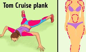 12 động tác plank tập đến đâu mỡ giảm đến đấy