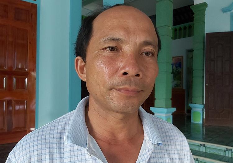 Ông Nguyễn Hữu Hải kể lại giây phút tiếp cận hiện trường.