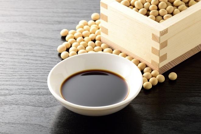 Nước tương đậm vị umami thường dùng cho các món chay. Xin nguồn ảnh.