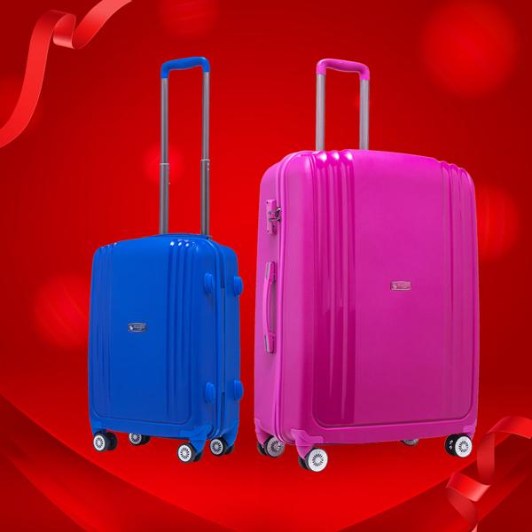 Mẫu vali Hebe PP03 được nhiều tín đồ du lịch yêu thích trong phân khúc vali nhựa cao cấp bởi kiểu dáng hiện đại, trọng lượng nhẹ. Chuyến đi của bạn sẽ trở nên trọn vẹn và không bị ảnh hưởng bởi những tình huống xấu như nhầm lẫn hay thất lạc hành lý vì Santa Barbara Hebeđược tích hợp name tag một cách khéo léo phía sau vali. Sản phẩm đang được ưu đãi còn 990.000 đồng cho cả hai size 20 và 25.