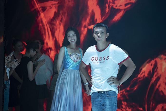 Đỗ Long cho biết, Tường Linh sẽ xuất hiện với vai trò đặc biệt ở show diễn lấy cảm hứng từ đại dương của anh.