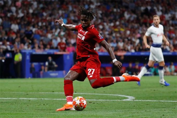 Origi ấn định chiến thắng cho Liverpool.