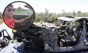 Reyes chạy 193 km/h trước vụ tai nạn khiến xe cháy đen