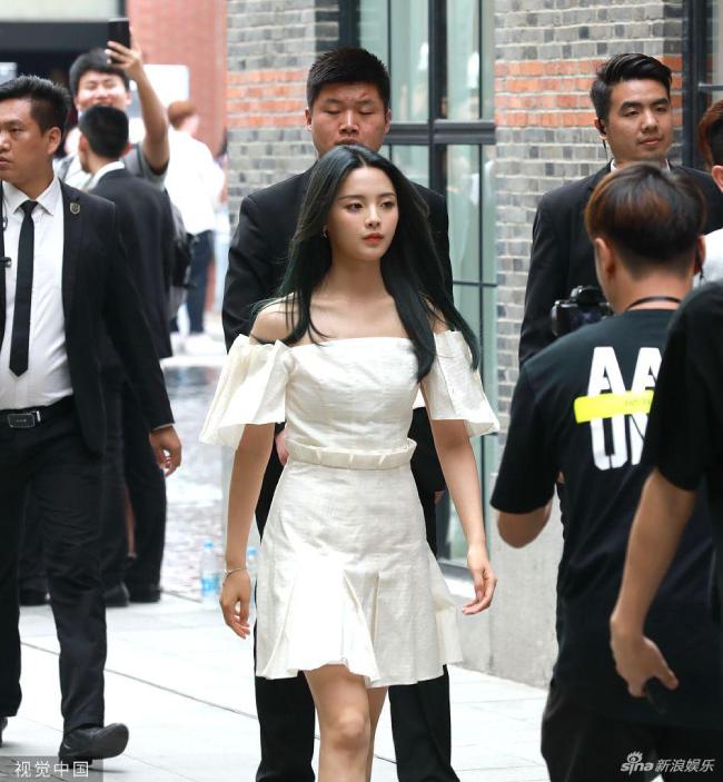 Mỹ nữ đẹp nhất Trung Quốc được cả đoàn vệ sĩ, trợ lý tháp tùng - 6