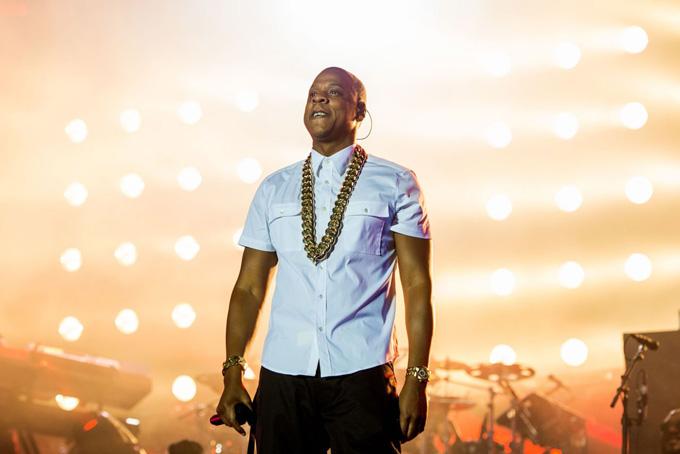 Rapper Jay-Z trong một tour lưu diễn. Ảnh: CNBC.