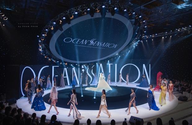 BST 'Ocean'S Sensation' của NTK Đỗ Long 'bùng nổ' và tỏa sáng tại White Palace - 6