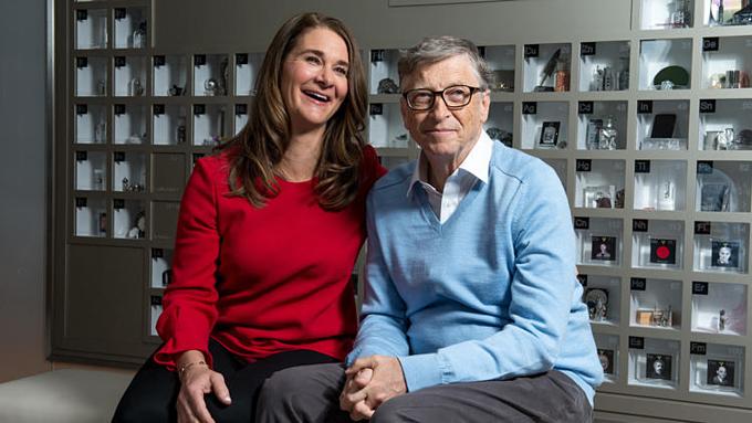Vợ chồng Melinda và Bill Gates đồng sáng lập và điều hành quỹ từ thiện. Ảnh: The Washington Post.