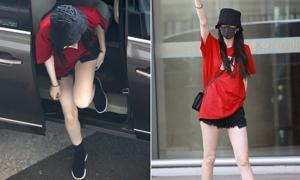 'Mỹ nữ Tân Cương' khiến fan trầm trồ vì đôi chân dài