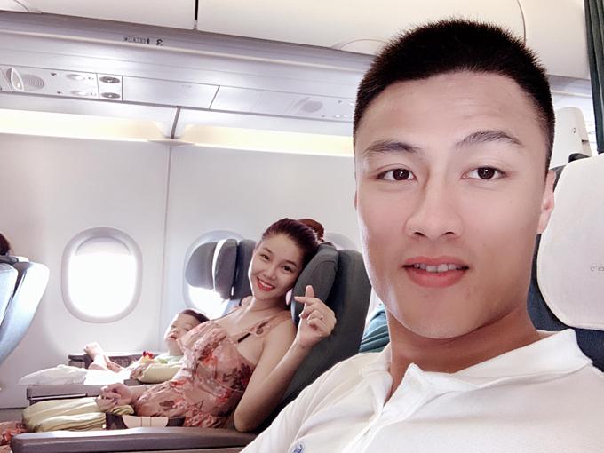 Gia đình Mạc Hồng Quân - Kỳ Hân vừa có chuyến du lịch nghỉ dưỡng ở Nha Trang.