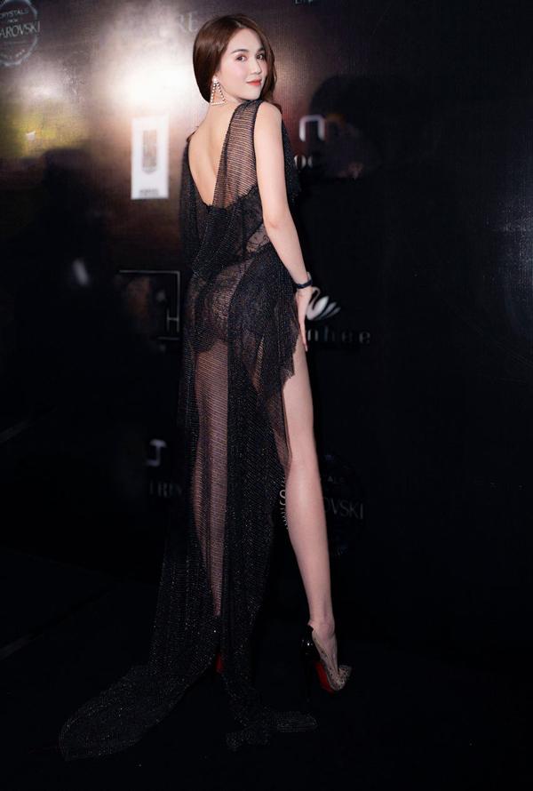 Những kiểu váy hở khiến Ngọc Trinh bị ném đá - 2