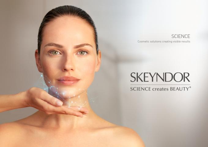 Skeyndorcung ứng giải pháp, liệu trình chăm sóc và trị liệu cácbệnh lý da tại spa, thẩm mỹ viện cũng như các sản phẩm chăm sóc da cá nhân.