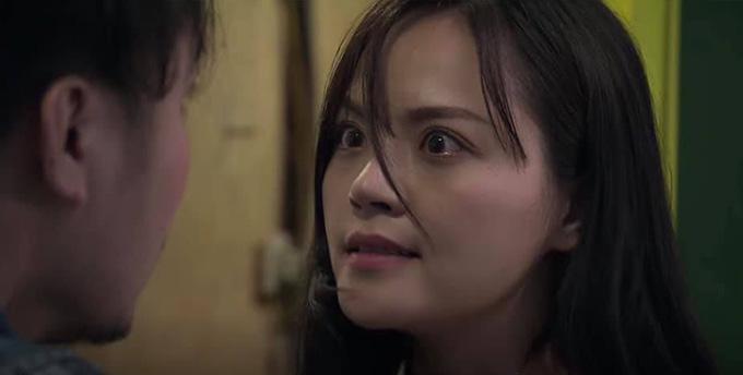 Biểu cảm của Thu Quỳnh trong tập 38 Về nhà đi con.