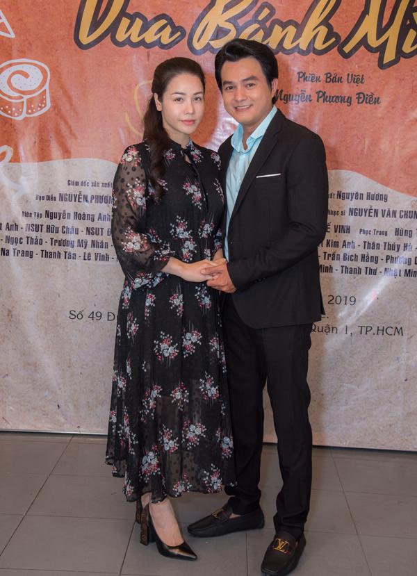 Nhật Kim Anh có cơ hội đóng cặp cùng diễn viên Cao Minh Đạt trên màn ảnh nhỏ.