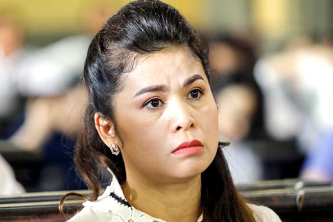 Bà Lê Hoàng Diệp Thảo tại phiên xử ly hôn hồi tháng 3. Ảnh: Thành Nguyễn.