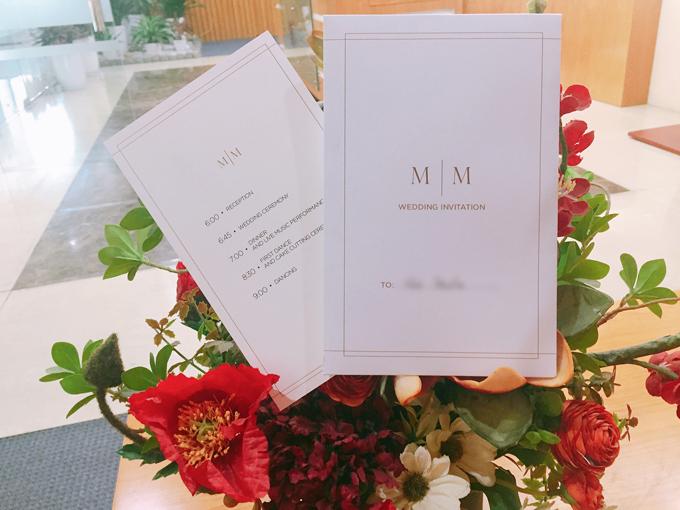 Phương Mai tiết lộ thiệp cưới tối giản với chồng Tây - 1