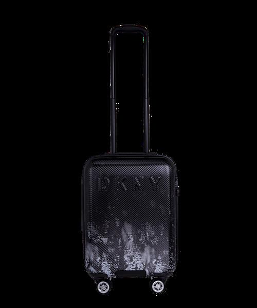 Các runner trẻ, yêu thích vận động sẽ hứng thú với thiết kế ấn tượng của mẫu vali DHGL8 thuộc thương hiệu DKNY đến từ Mỹ. Sản phẩm có họa tiết sọc mớilạ trên nền màu đen cùng kiểu phối màu trắng giống bông tuyết độc đáo, nổi bật.