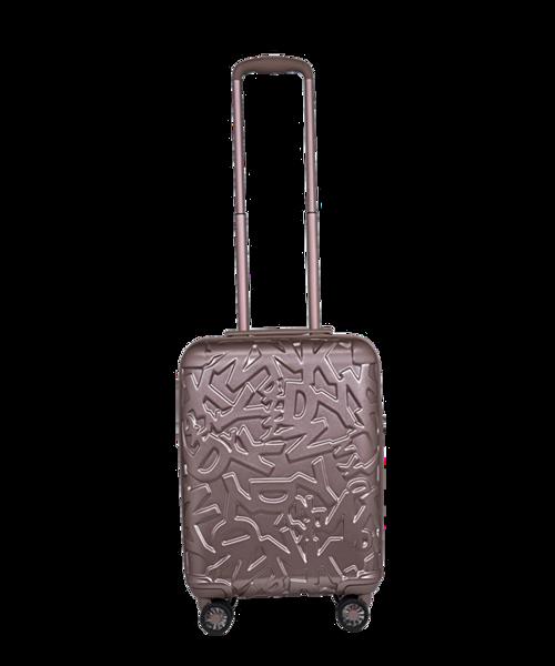 Ngoài DHGL8, dòng vali DKNY của Mỹ còn có sản phẩm DTCH8 làm bằng chất liệu nhựa P.C cao cấp, màu sáng kết hợp với những họa tiết 3D lạ mắt, giúp runner dễ dàng nhận biết hành lý. DTCH8 cũng được sản xuất các size đa dạng từ 20 đến 28, đáp ứng nhiều nhu cầu của người dùng.