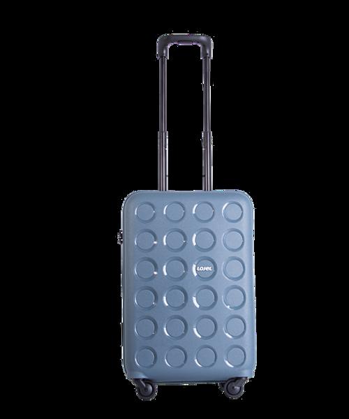 Lojel PP10 là thương hiệu vali kéo Nhật Bản được cấu tạo 100% bởi chất liệu nhựa Poly-Propylene PP cao cấp chống va đập mạnh, độ đàn hồi cao. Hệ thống vali kéo 4 bánh xe được sản xuất bằng cao su thiên nhiên đúc nguyên khối ở nhà máy Nhật Bản Hinomoto, trọng lực từ đó được phân tán đều ra 4 điểm tiếp xúc của vali giúp giảm ma sát, di chuyển nhẹ nhàng trên mọi địa hình.
