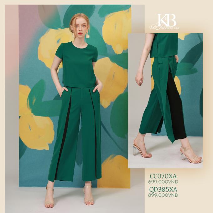 Những trang phục màu sắc này có thể theo chân phái đẹp trong những kỳ nghỉ của mùa hè năm nay, nhưng cũng có thể đồng hành cùng họ đến nơi làm việc.