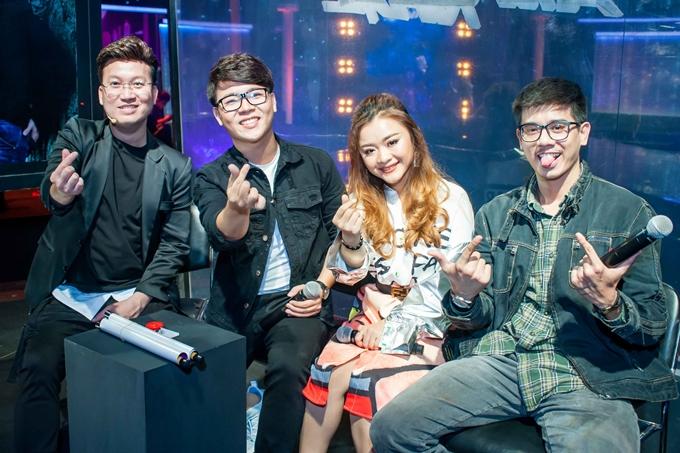 Đội của Sỹ Luân thể hiện sự quyết tâm khi tham gia chương trình. Tập 12 Đấu trường âm nhạc sẽ phát sóng lúc 21hngày 9/6 trên kênh THVL1.