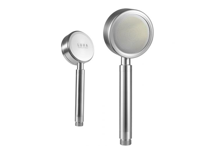 Vòi sen tăng áp LUVA VS4 với mức giá vừa phải, chất liệu nhôm cao cấp không gỉ, không dùng pin, không dùng điện.