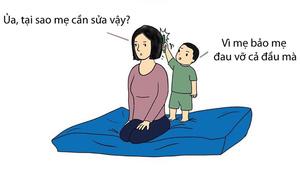 Những khoảnh khắc bố mẹ 'méo mặt' vì tư duy logic của trẻ