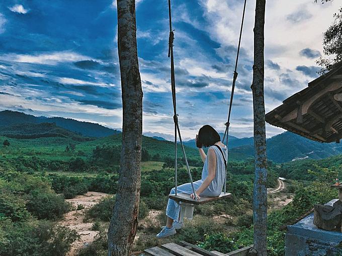 Xích đu tử thần ở Quảng Bình đẹp chẳng kém Bali - 7