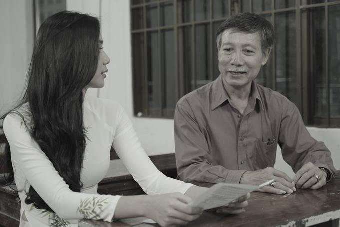 Trương Kiều Diễm gặp gỡ, giải thích cho vị phụ huynh hiểu và ủng hộ con theo đuổi ước mơ.