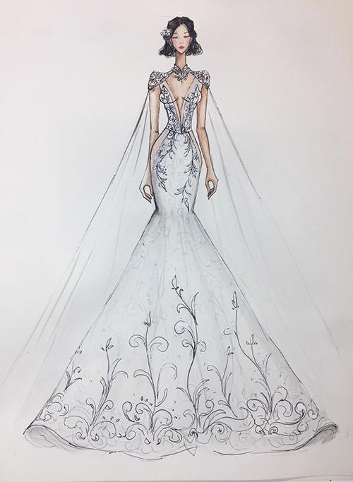 Phương Mai sẽ diện jumpsuit cưới - 2