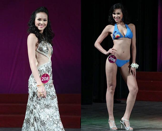 Năm 2010, Phương Mai dự thi Hoa hậu Thế giới người Việt và dừng chân ở top 15.