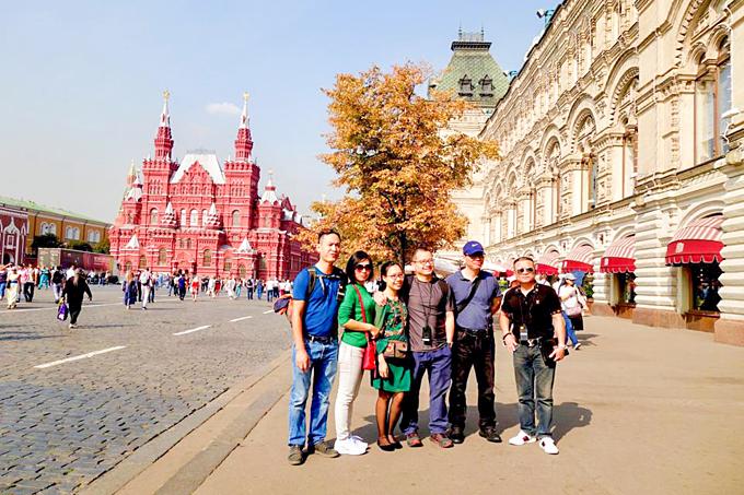Nga là một trong những đất nước hấp dẫn nhiều du khách trên toàn thế giới.