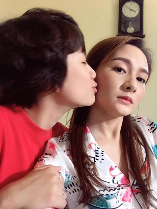 Bảo Thanh bác bỏ tin đồn khi có người thay thế cô đóng vai Anh Thư.