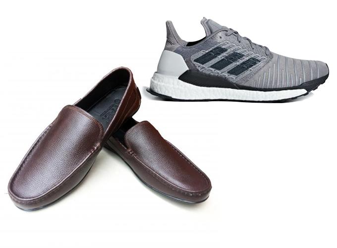 Một đôi giày dành tặng cha, để giúp cha bước đi một cách thoải mái, êm chân sau bao năm tháng vất vả là sự lựa chọn không thể thích hợp hơn. Nếu cha của bạn là một người thích thể thao, hãy tặng ông một đôi giày sneaker giúp hỗ trợ vận động. Nếu cha bạn thích diện quần tây sơ mi lịch lãm, hãy dành tặng ông một đôi giày tây phù hợp màu sắc, chất liệu da sang trọng.