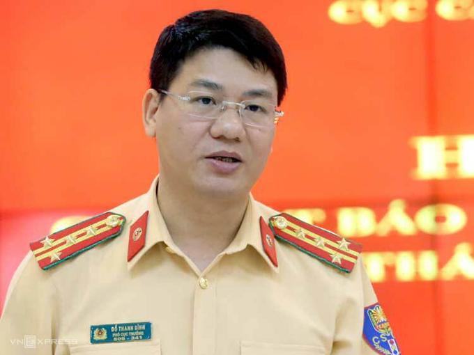 Đại tá Đỗ Thanh Bình, Cục phó Cục CSGT. Ảnh: Bá Đô