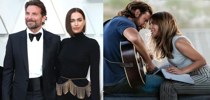 Bradley thiếu vắng sự quan tâm và tình cảm dành cho bạn gái khi quay phim A Star Is Born với Gaga.
