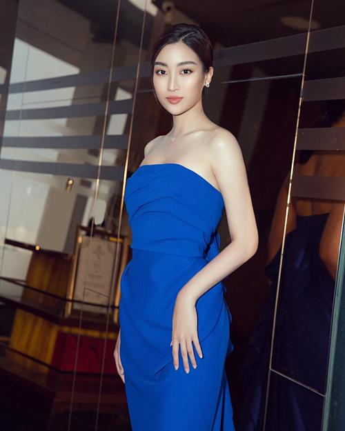 Hoa hậu Đỗ Mỹ Linh thấy mình lạ quá nhìn không ra.