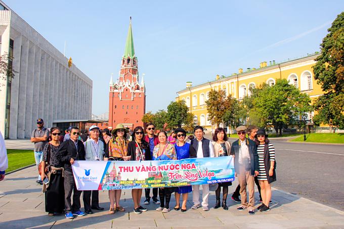 Nhiều người chọn du lịch Nga vào mùa thu.