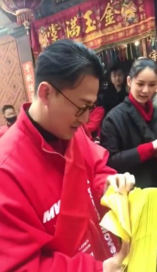 Lâm Phong từng đưa Trương Hinh Nguyệt về quê thăm họ hàng.