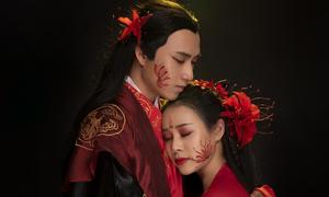 Vợ Việt Hoàn đóng MV với bạn diễn kém một giáp