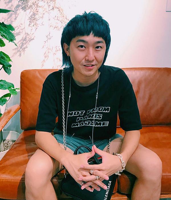 Kudo - nhà viết kịch bản truyền hình Nhật Bản - cháu trai của cụ ông Tetsuya. Ảnh: Instagram.