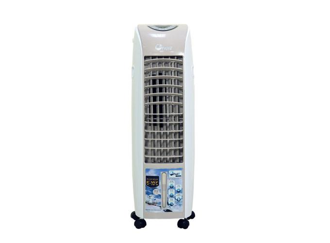 Máy làm mát không khí cao cấp FujiE AC-18B có chức năng hẹn giờ trong 24h, có chế độ hiển thị nhiệt độ để nhận biết nhiệt độ tại cửa gió, tấm làm mát cấu tạo dạng tổ ong giúp làm mát nhanh hơn, điều khiển từ xa, khu vực làm mát từ 6-10m2. Giá sản phẩm giảm còn 1,755 triệu đồng.