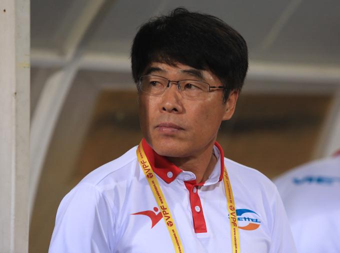 HLV Lee Heung-sil. Ảnh: Đương Phạm.