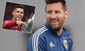 Messi vượt C. Ronaldo là VĐV có thu nhập cao nhất thế giới