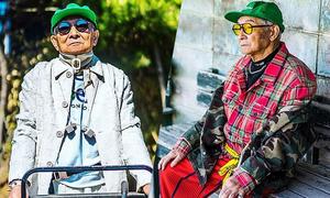Lão nông 84 tuổi thành biểu tượng thời trang nhờ diện quần áo của cháu